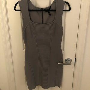 BCBG grey bodycon dress